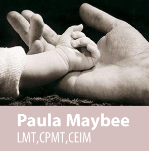 Massage Therapy – LMT, CEIM, CPMT – Paula Maybee Logo